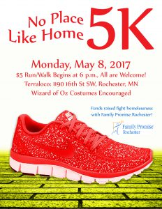 5K on Monday, May 8